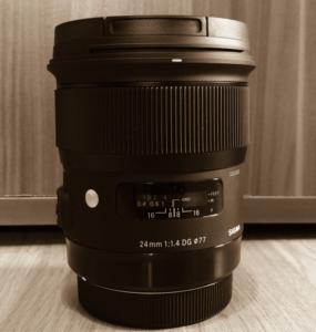 Sigma 24mm F1,4 DG HSM Art Objektiv