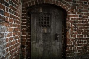 Neustadt-Glewe Burg Tür